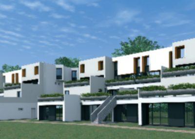 Réhabilitation de 218 logements Les Jardins de Launay