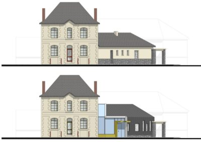 Réhabilitation et extension de la mairie de Bouée