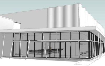 Construction d'une salle sportive
