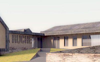 Construction d'une restauration et d'une médiathèque