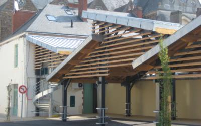 Réhabilitation de la Maison QUILLAUD et construction des Halles